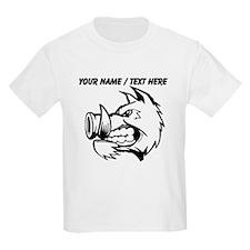 Custom Razorback Mascot T-Shirt
