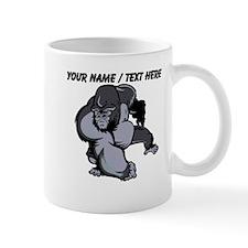 Custom Gorilla Mascot Mug