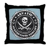 Aquatic Acquisitions Throw Pillow