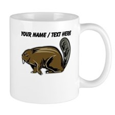 Custom Brown Beaver Mug