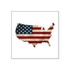 Vintage USA Sticker
