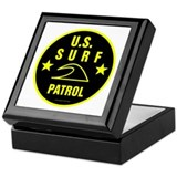 U.S. SURF PATROL Keepsake Box