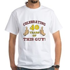 40th Birthday Gift For Him Shirt