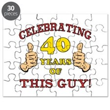 40th Birthday Gift For Him Puzzle