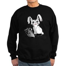 Zombie Bunny Rabbit with Skeleton Carrots Sweater