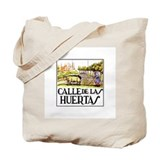 Calle Huertas, Madrid - Spain Tote Bag