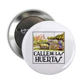 Calle Huertas, Madrid - Spain Button