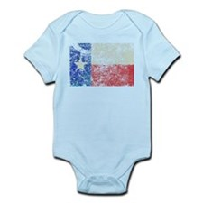 Vintage Texas Flag Infant Bodysuit