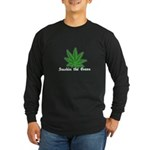 Smokin the Green (pot) Long Sleeve Dark T-Shirt