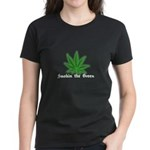 Smokin the Green (pot) Women's Dark T-Shirt