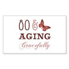 80 & Aging Gracefully Decal