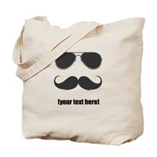 Shades and mustache Tote Bag