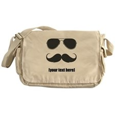 Shades and mustache Messenger Bag