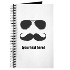 Shades and mustache Journal
