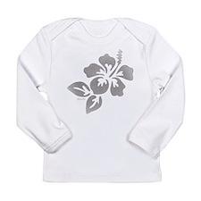 Hawaiian Flower Long Sleeve Infant T-Shirt