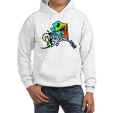 Fellowship of the Running Dog Alaska Hoodie