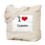 I love Convex Tote Bag