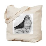 Chinese Owl Pigeon Tote Bag