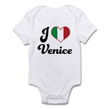 Italy I Heart Venice Infant Bodysuit