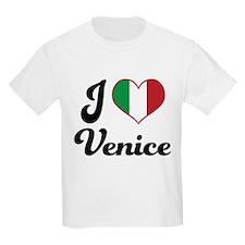 Italy I Heart Venice T-Shirt