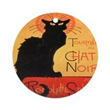 Chat Noir Ornament (Round)