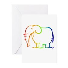 Gay Elephant Greeting Cards (Pk of 10)