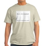 Geek Christmukkah Ash Grey T-Shirt