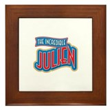 The Incredible Julien Framed Tile