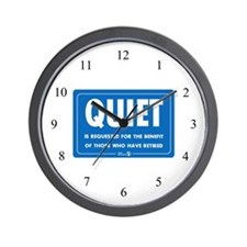 Quiet! Wall Clock