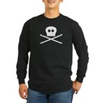Craft Pirate Crochet Long Sleeve Dark T-Shirt