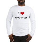 I love My Contract Long Sleeve T-Shirt