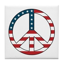 Peace USA Tile Coaster