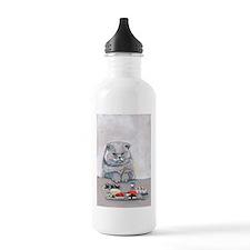 Sushi Cat- The Grump Water Bottle