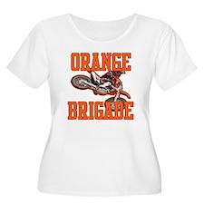 Orange Brigade Plus Size T-Shirt