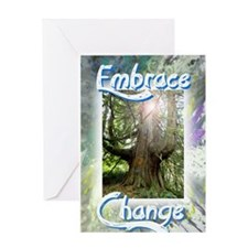 Embrace Change Discover, Uncover, Accept Greeting