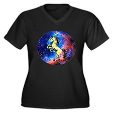 Space Unicorn Plus Size T-Shirt