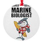 Worlds Greatest Marine Biologist Ornament