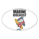 Worlds Greatest Marine Biologist Sticker