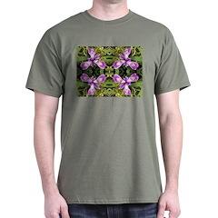 Pacific Iris 2 Reflection Dark T-Shirt
