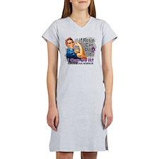 If Rosie Can Do It Sarcoidosis Women's Nightshirt