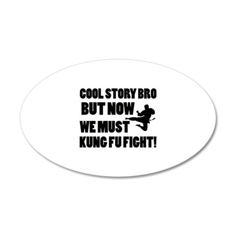 Funny Designs 20x12 Oval Wall Decal