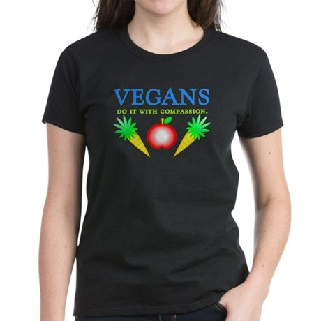 Vegans Do It... Women's Dark T-Shirt