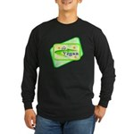 Go Vegan Long Sleeve Dark T-Shirt