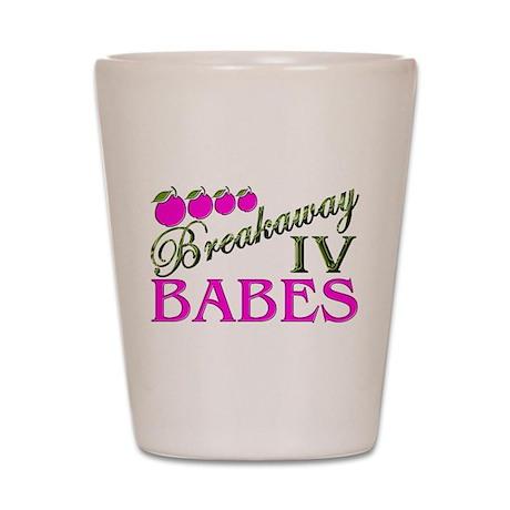 breakaway IV Shot Glass