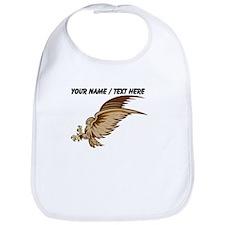 Custom Falcon Cartoon Bib