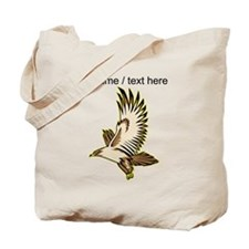 Custom Flying Falcon Tote Bag