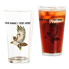 Custom Flying Falcon Drinking Glass