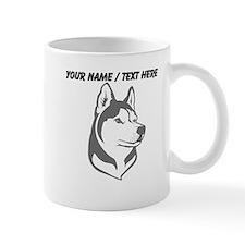 Custom Wolf Head Mug