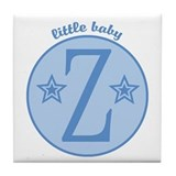 Baby Z Tile Coaster