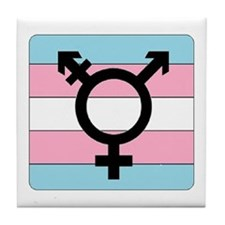 Transgender Equality Tile Coaster